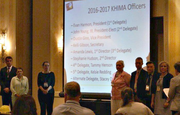 2016-2017 KHIMA Officers Presentation